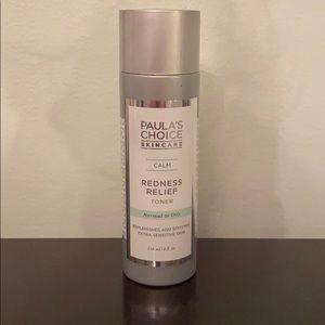 Paulas choice redness relief toner. New